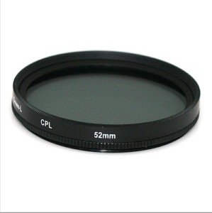 52mm Circular Polarizing C-PL PL-CIR CPL Lens Filter