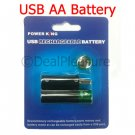 USB Rechargeable AA Battery 2-Pics One Pair