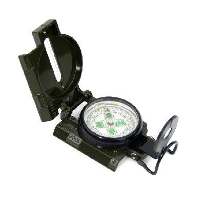 3 in 1 Military Marching Lensatic Camping Hiking Compass W/Guide Wire