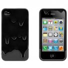 IPHONE Melt The Ice Cream Phone Protective Cover Black for IPHONE 4 4S