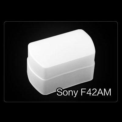 Flash Bounce Diffuser Soft Cover Fit Sony HVL-F42AM Flashgun
