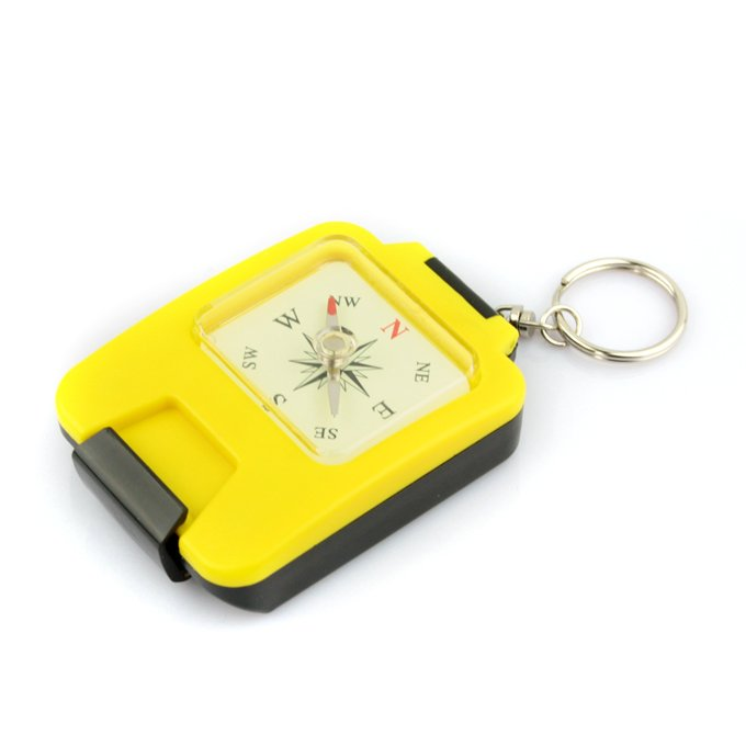 Portable Outdoors Plastic Case Camping Hiking Lensatic Compass New