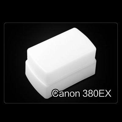 Flash Bounce Diffuser Soft Cover Fit Canon 380EX Speedlite Flashgun