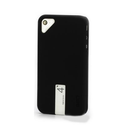 EGO Snap Case Cover Hybrid Series for Apple iPhone 4/4S USB 4G Flash Drive (Black-White)