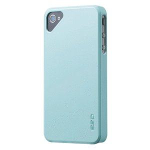 EGO Snap Case Cover Color Series for Apple iPhone 4 / 4S (Blue)