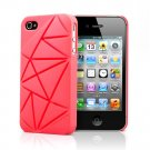 COIN 4 Snap Case Cover for Apple iPhone 4 / 4S (Pink)