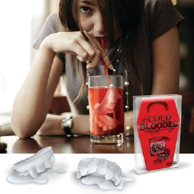 Cool Vampire Shaped Ice Trays Candy Mold Maker Party Must Gadget