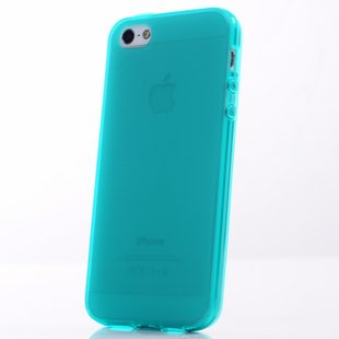 Translucent Green Color Slim Case for iPhone 5 5G Cover Shell