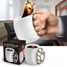 FISTICUP Knockout Cup Office Home Drink Water Tea Coffee Mug