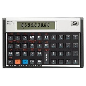 Ten (10) HP 12C Platinum Calculator +Leather Case ~ NEW SEALED ~PayPal FREE SHIP WORLDWIDE