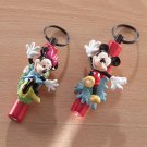 Mickey and Minnie Mouse Keychain Lights 6ct