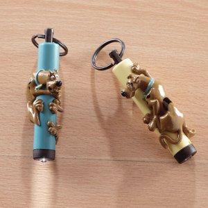 Scooby Doo Keychain Lights 6ct