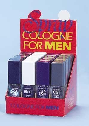 Cologne For Men Display 24ct