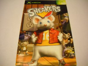 Manual ONLY ~  for Sneakers   Xbox
