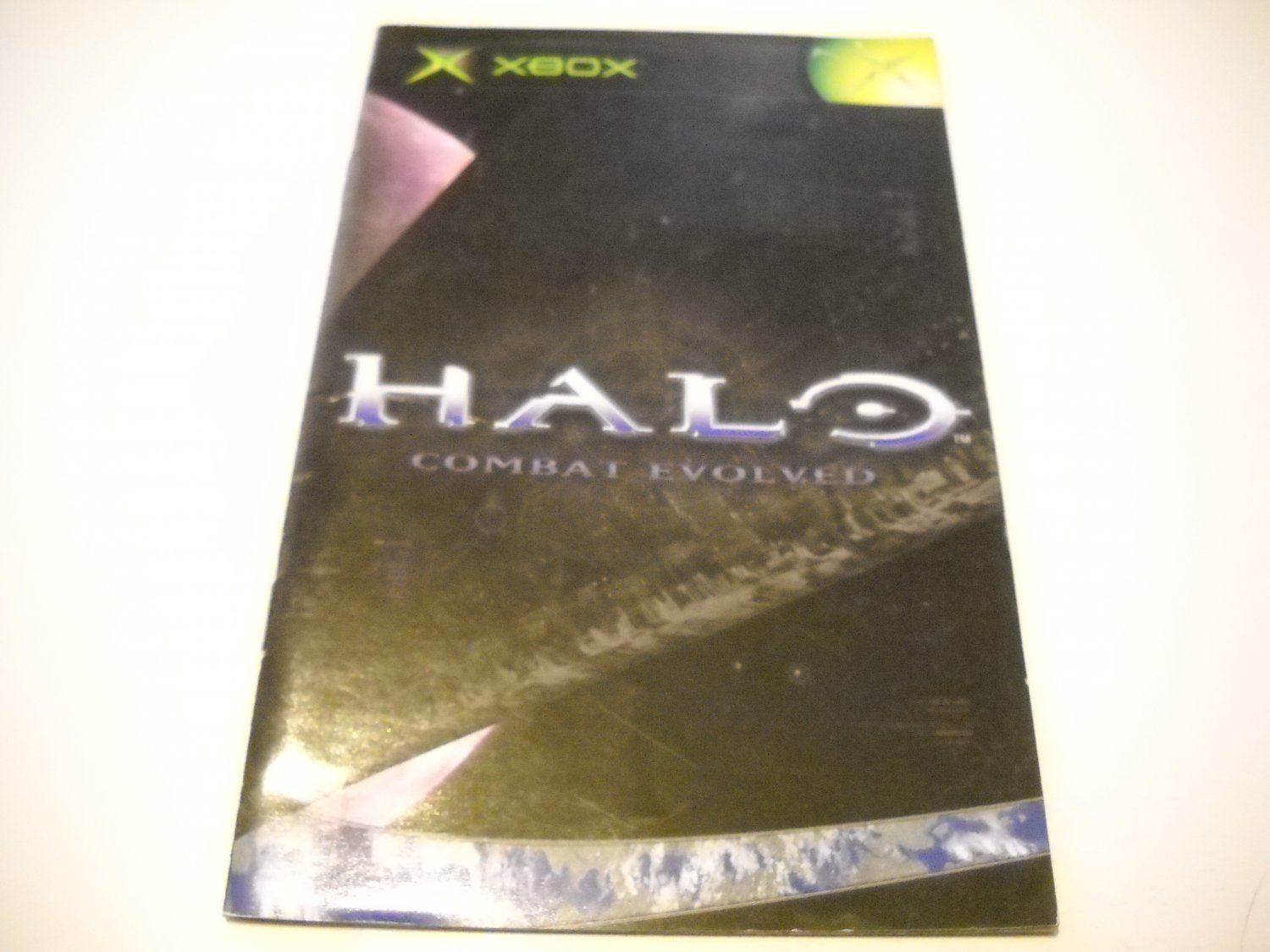 Manual ONLY ~  for Halo Combat Evolved   Xbox