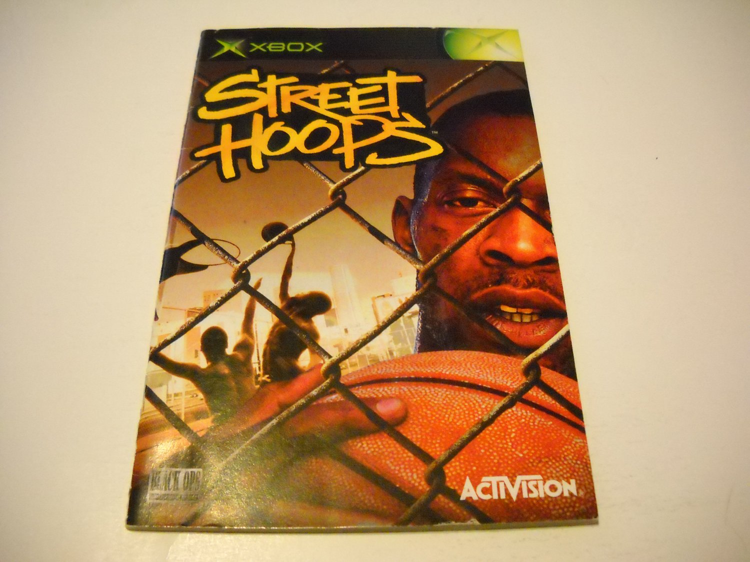 Manual ONLY ~  for Street Hoops   Xbox