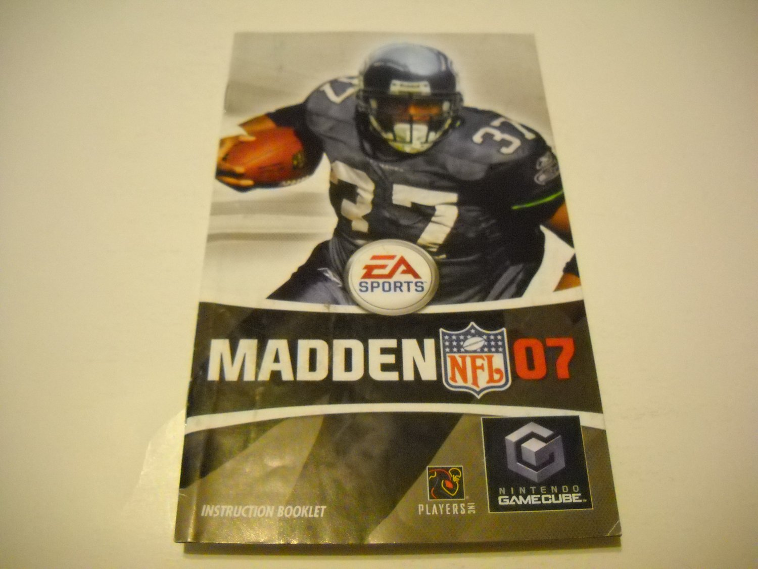 Manual ONLY ~  for Madden 07   Gamecube