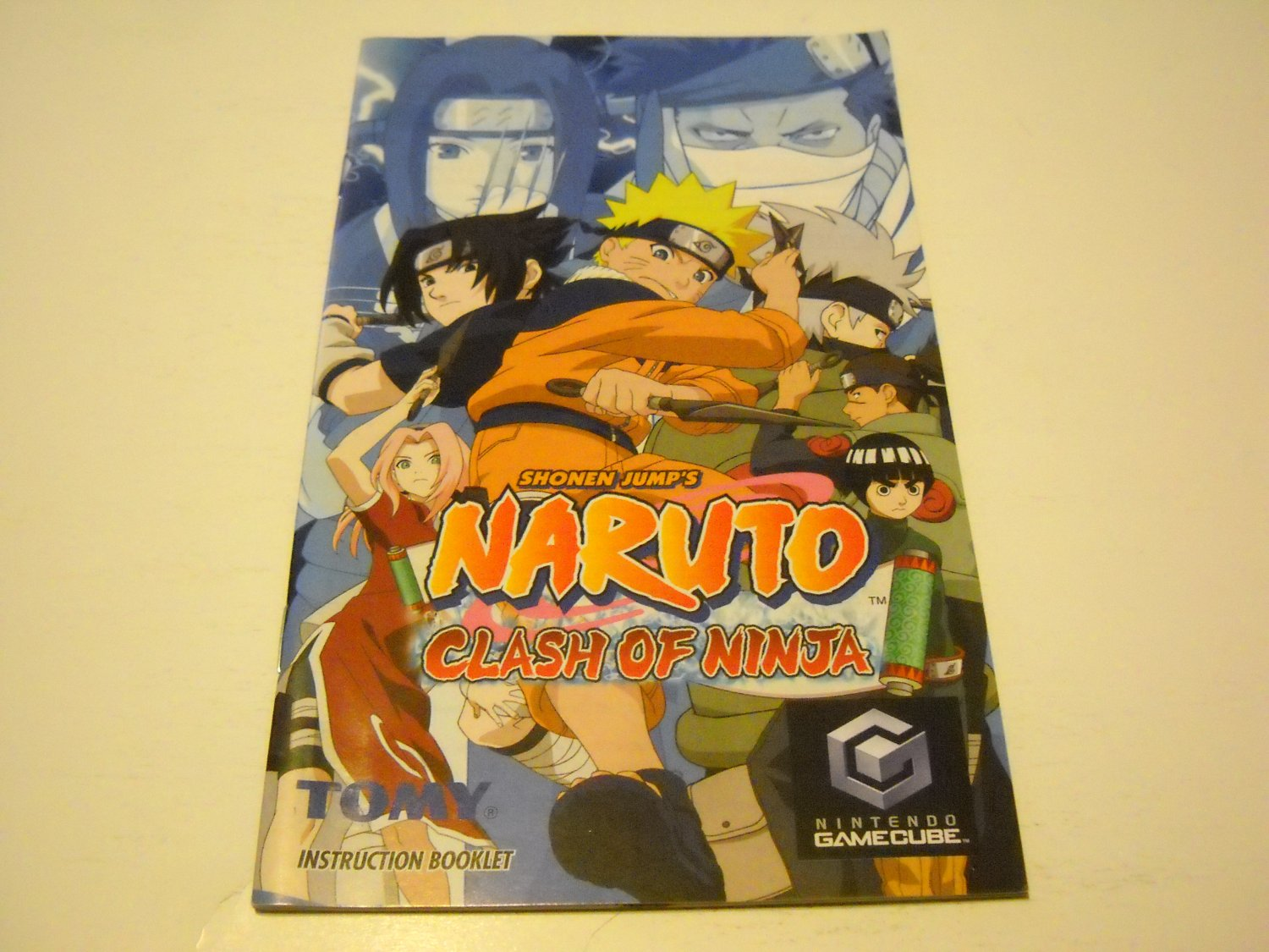 Manual ONLY ~  for Naruto Clash of Ninja   Gamecube