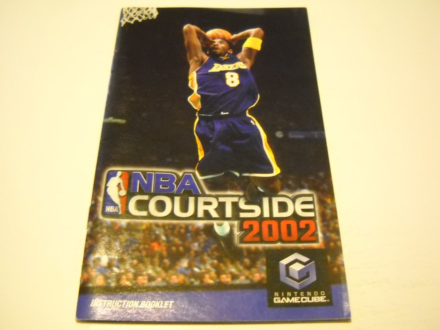 Manual ONLY ~  for NBA Courtside 2002   Gamecube