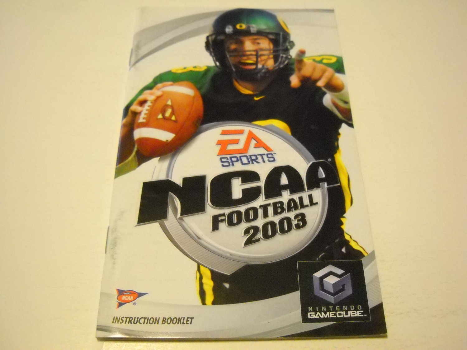 Manual ONLY ~  for NCAA Football 2003   Gamecube