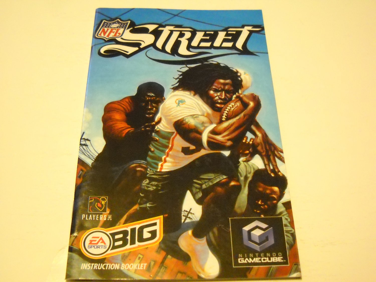 Manual ONLY ~  for NFL Street   Gamecube