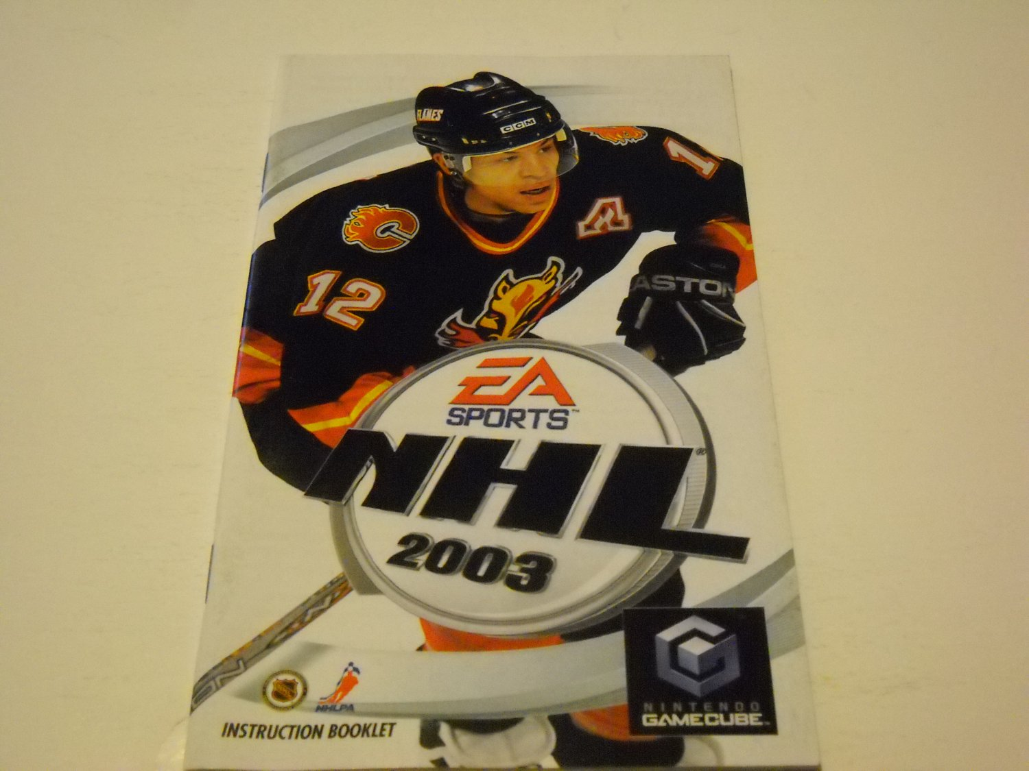 Manual ONLY ~  for NHL 2003   Gamecube