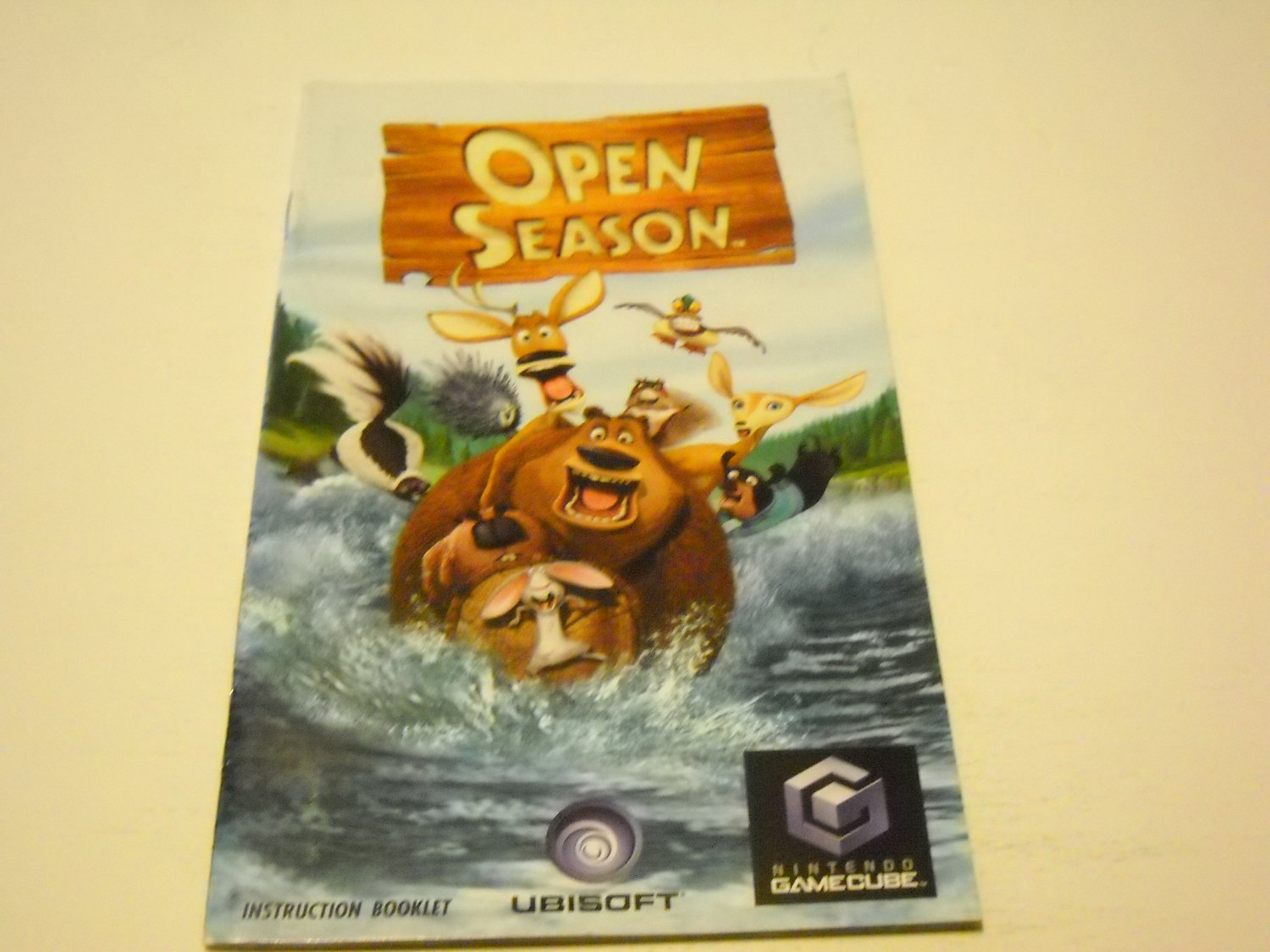 Manual ONLY ~  for Open Season   Gamecube