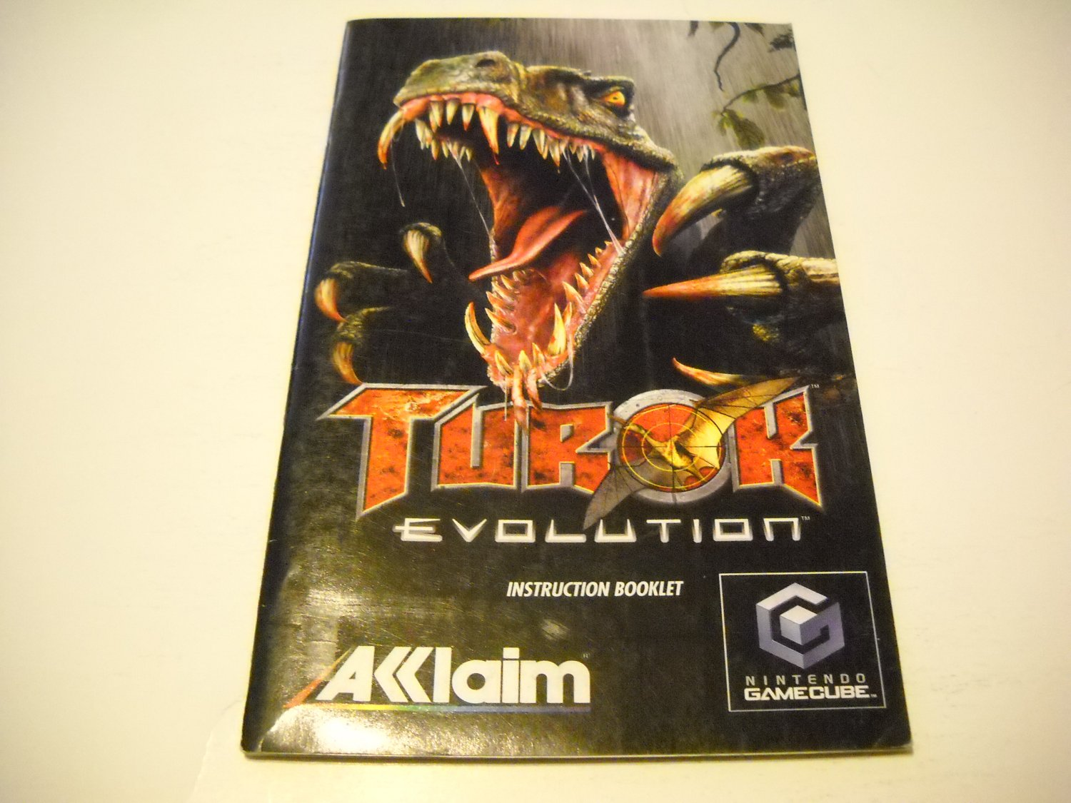 Manual ONLY ~  for Turok Evolution   Gamecube