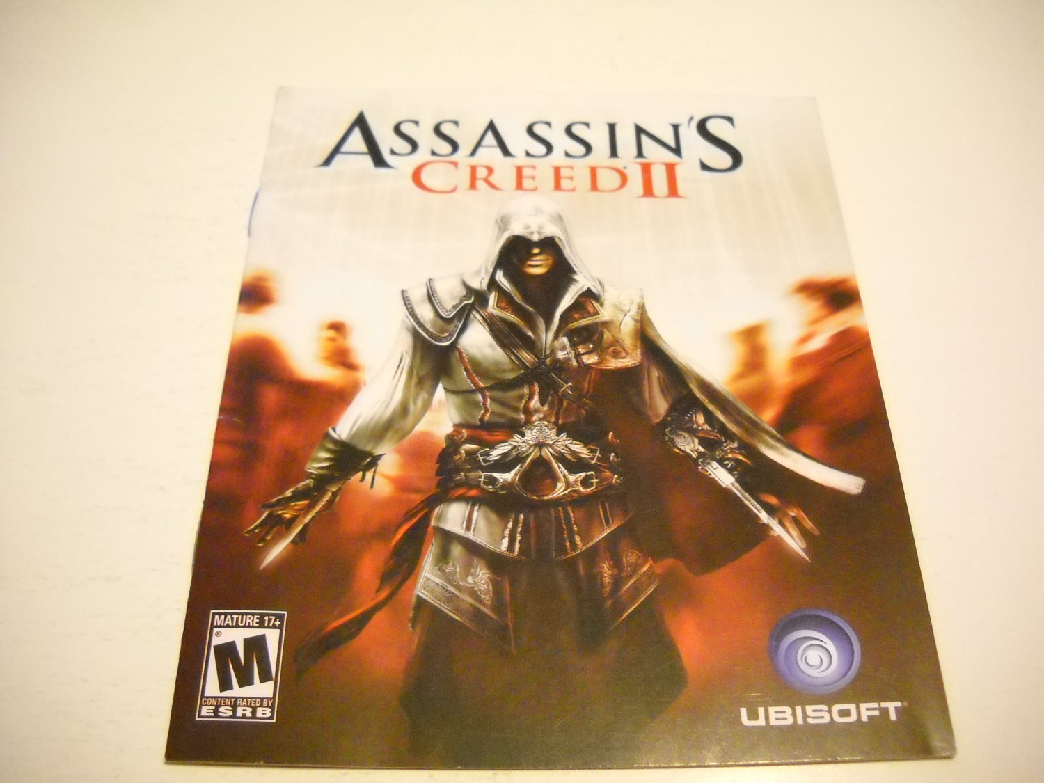 Manual ONLY ~  for Assassin's Creed II / 2 , PS3