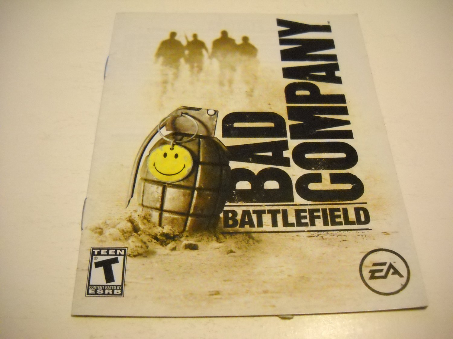 Manual ONLY ~  for Battlefield Bad Company , PS3