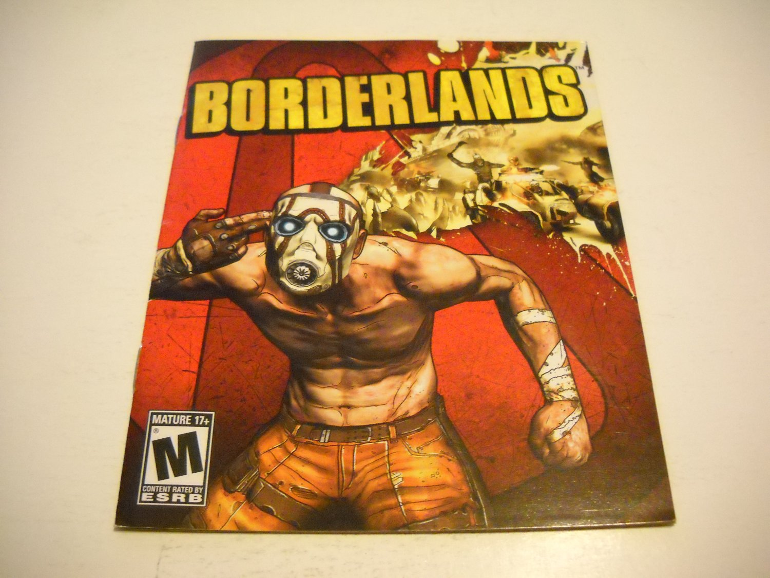 Manual ONLY ~  for Borderlands , PS3
