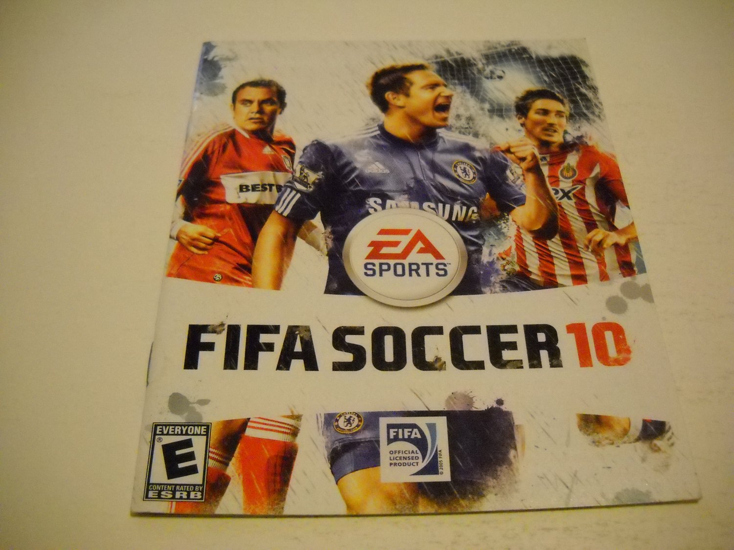 Manual ONLY ~  for Fifa Soccer 10 , PS3