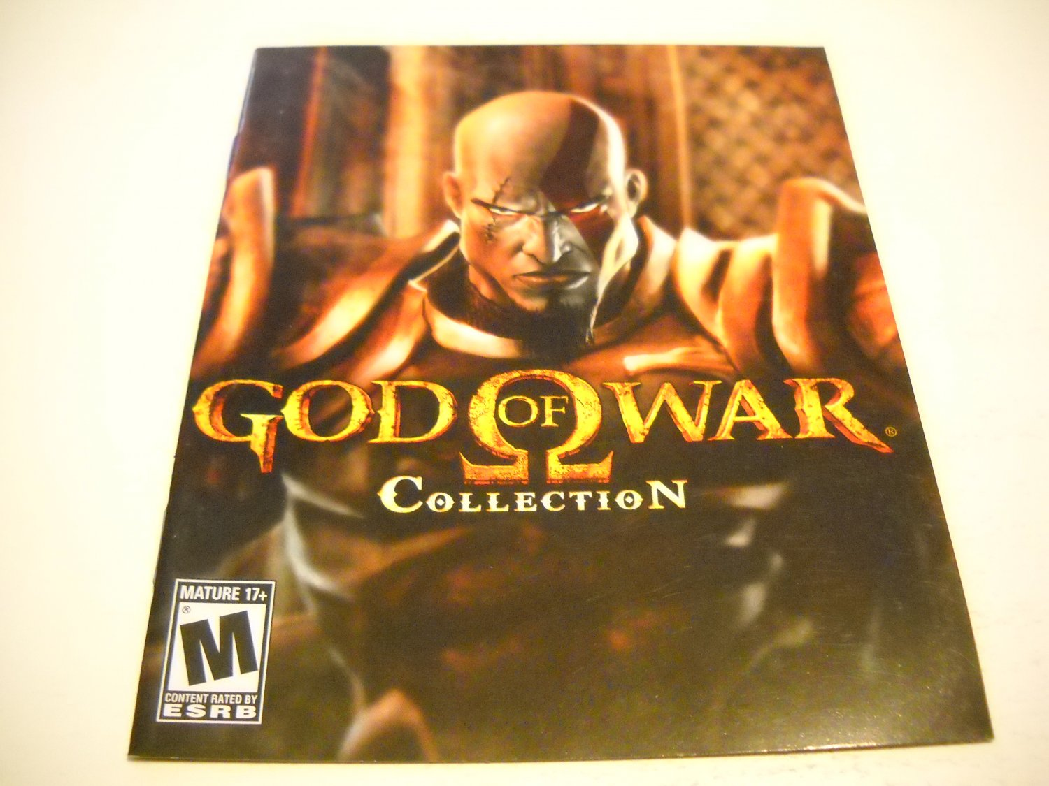 Manual ONLY ~  for God of War Collection , PS3