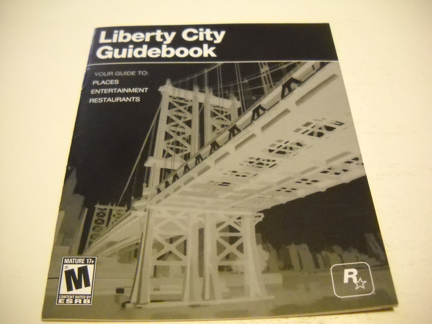 Manual ONLY ~  for Grand theft Auto Liberty City Guidebook , PS3
