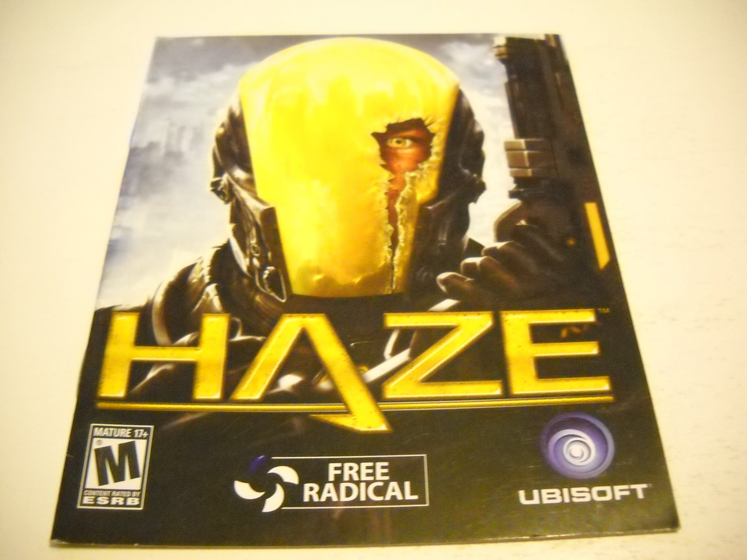Manual ONLY ~  for Haze , PS3