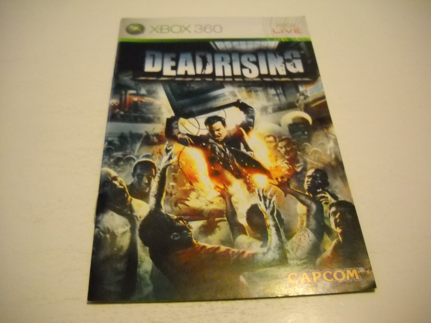 Manual ONLY ~  for Deadrising   - Xbox 360 Instruction Booklet