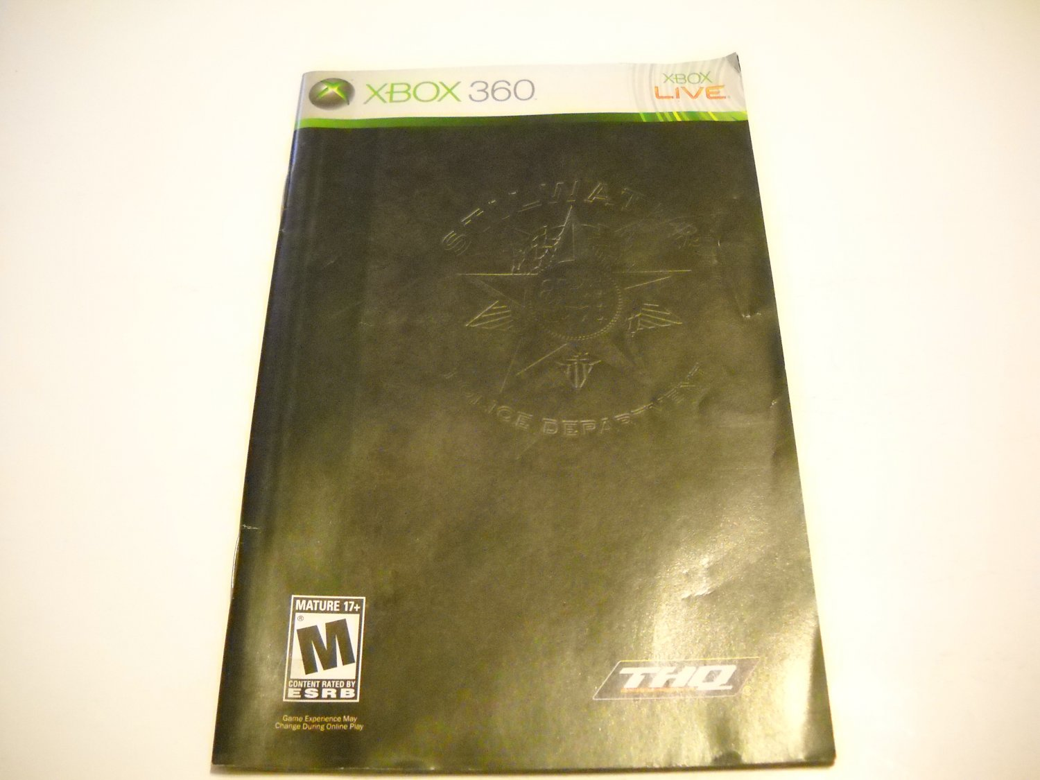 Manual ONLY ~  for Saints Row   - Xbox 360 Instruction Booklet