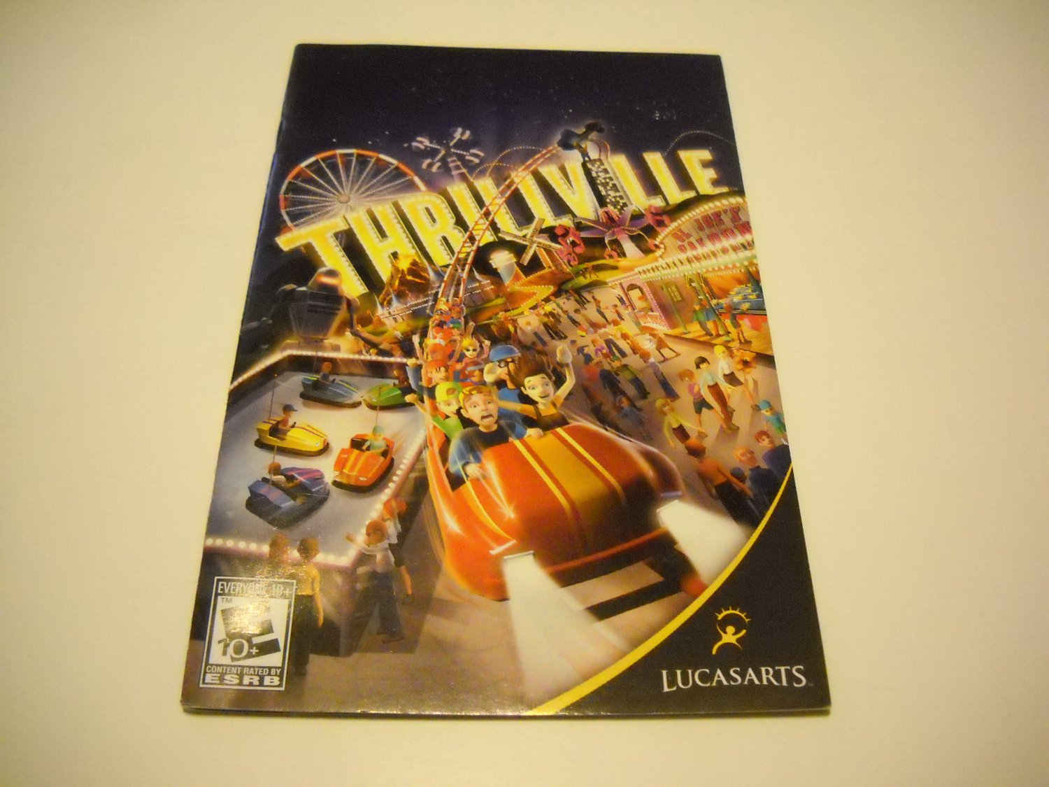 Manual ONLY ~  for Thrillville   Ps2