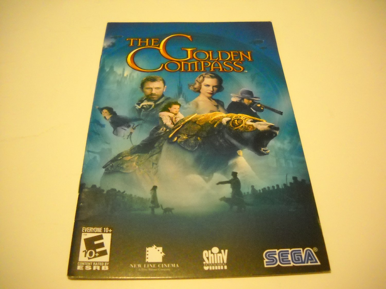 Manual ONLY ~  for The Golden Compass   Ps2