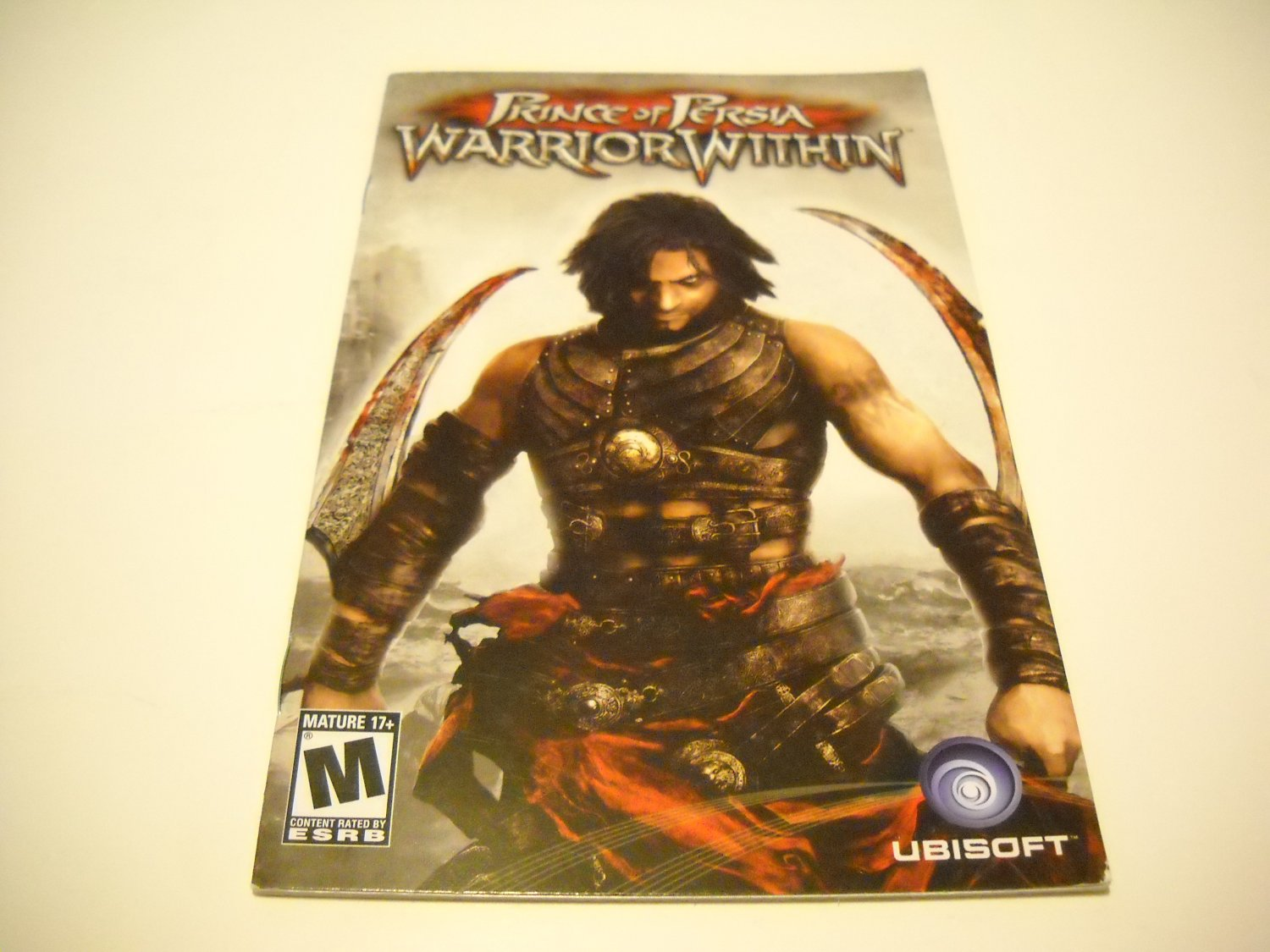 Manual ONLY ~  for Prince of Persia Warrior Within   Ps2