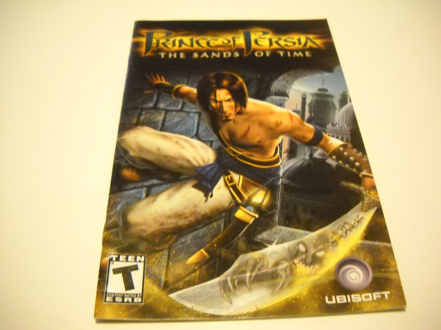 Manual ONLY ~  for Prince of Persia The Sands of Time   Ps2