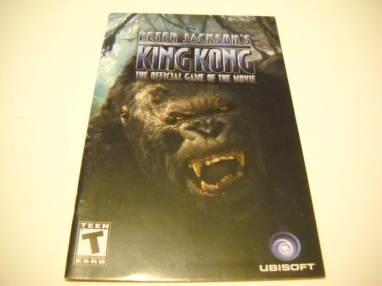 Manual ONLY ~  for Peter Jackson's King Kong   Ps2