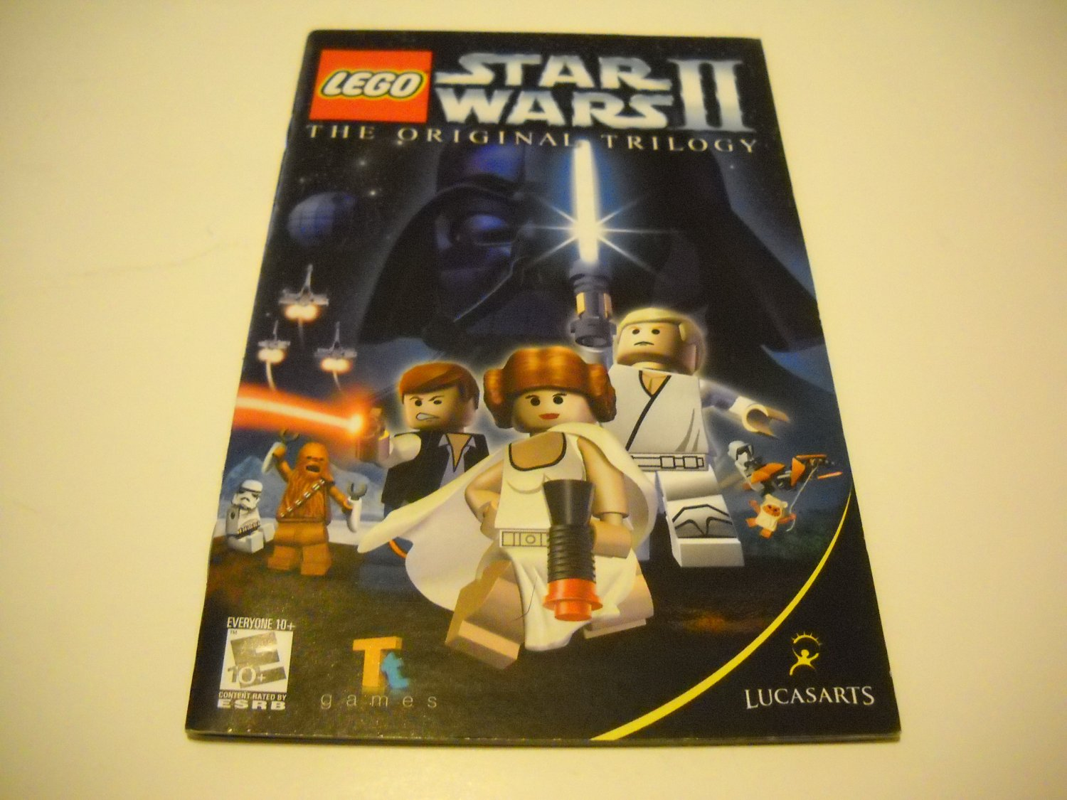 Manual ONLY ~  for Lego Star Wars II The Original Trilogy   Ps2