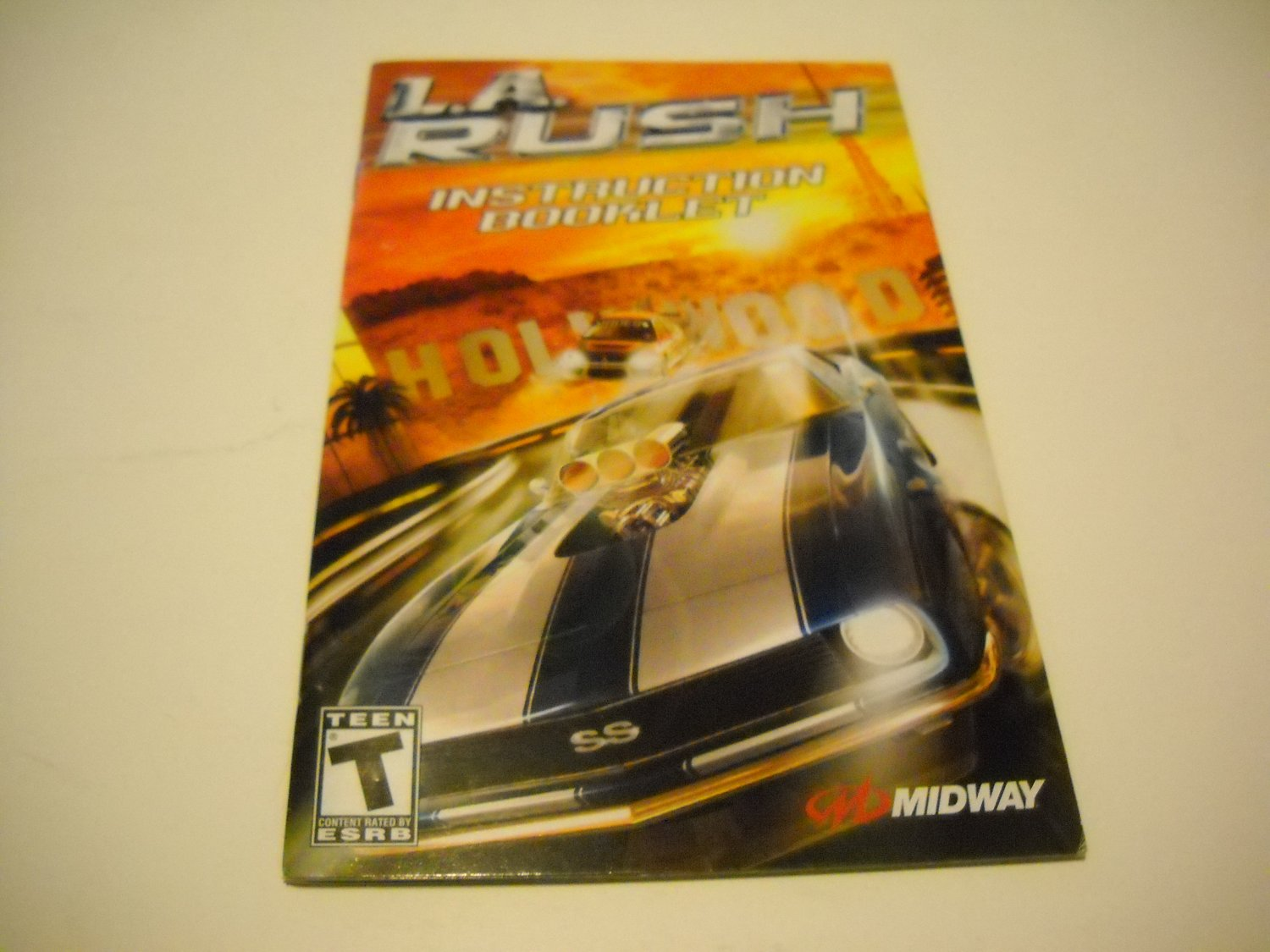 Manual ONLY ~  for L.A. Rush   Ps2