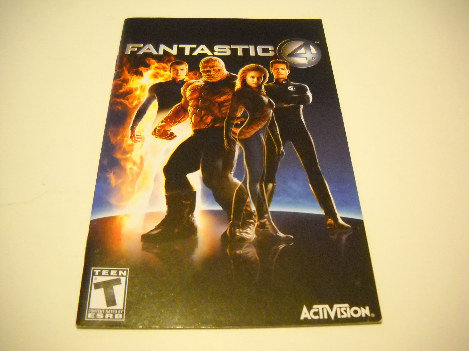 Manual ONLY ~  for Fantastic 4   Ps2