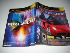 Artwork ONLY ~  PGR Project Gotham Racing 2 / Arcade  Not for Resale    Xbox