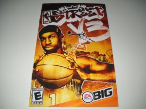 Manual ONLY ~  for NBA Street Vol 3   Ps2