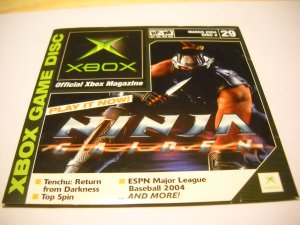 Official Xbox Magazine Demo Disc 29, (March 2004) OXM