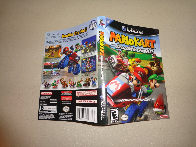 Artwork ONLY ~ Mario Kart Double Dash - Cover Art Gamecube