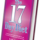 The 17 Day Diet Book by Dr. Mike Moreno NEW!!!